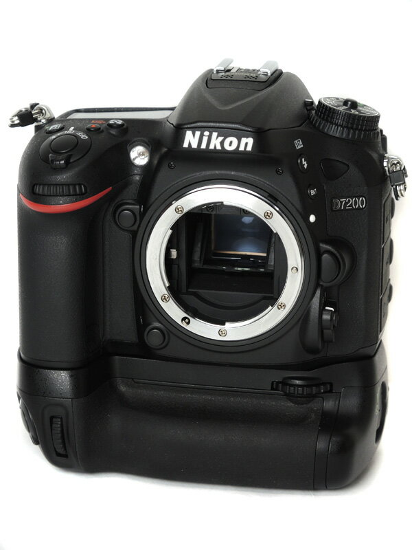 【Nikon】ニコン『D7200バッテリーパックキット』D7200BPK 2416万画素 DXフォーマット デジタル一眼レフカメラ 1週間保証【中古】