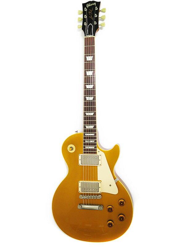 【Gibson CUSTOMSHOP】【ヒスコレ】【LPR7】【工房メンテ済】ギブソンカスタムショップ『エレキギター』57 LP STD Reissue Gold Top 1998年製 1週間保証【中古】