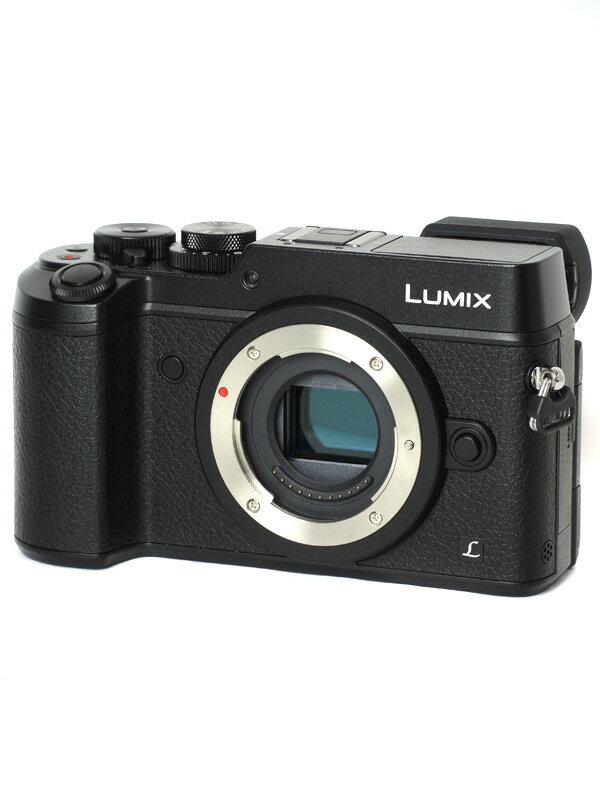 【Panasonic】パナソニック『LUMIX(ルミックス) GX8ボディ』DMC-GX8-K ブラック 2030万画素 4K動画 ミラーレス一眼カメラ【中古】