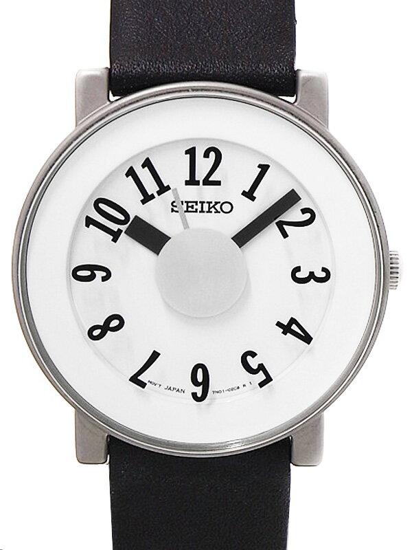 【SEIKO】【'16年購入】【300本限定】【美品】セイコー『スピリット スマート ソットサスコラボモデル』SCXP035 メンズ クォーツ 1週間保証【中古】