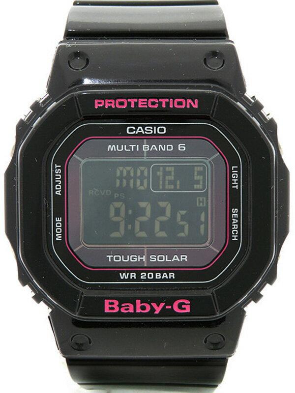 【CASIO】カシオ『BABY-G』BGD-5000-1JF レディース ソーラー電波クォーツ 1週間保証【中古】