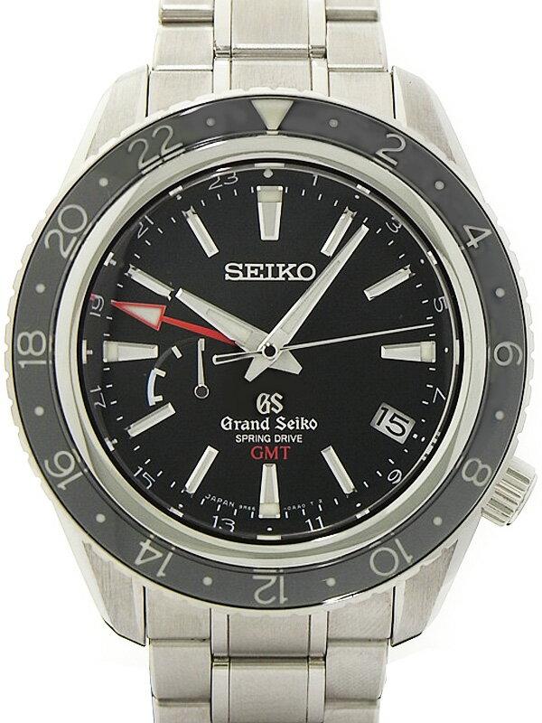 【SEIKO】セイコー『グランドセイコー GMT』SBGE001 メンズ スプリングドライブ 6ヶ月保証【中古】