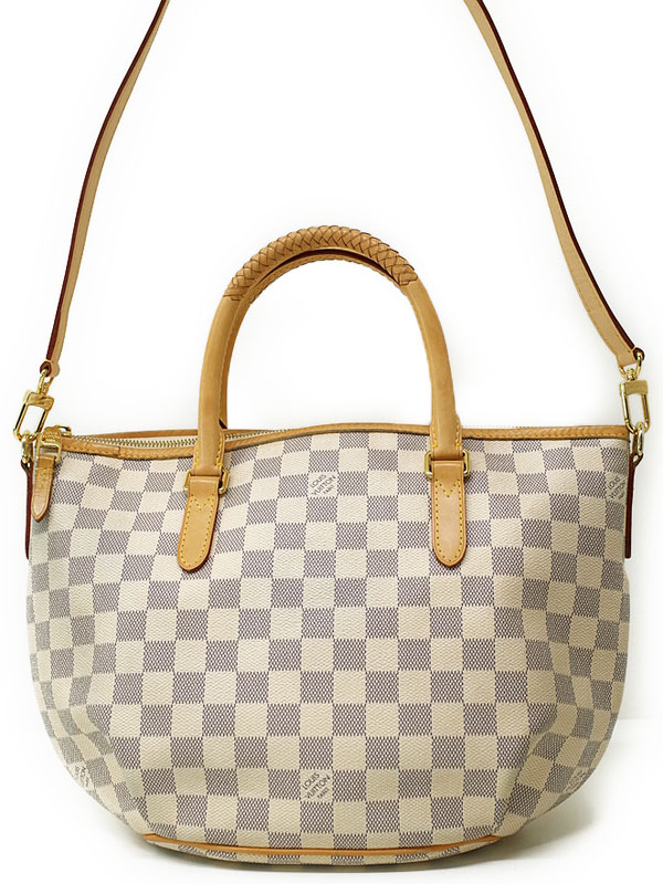 【LOUIS VUITTON】ルイヴィトン『ダミエ アズール リヴィエラPM』N48250 レディース 2WAYバッグ 1週間保証【中古】