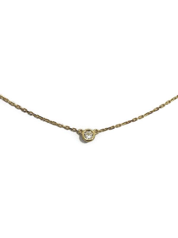 【AHKAH】【vivian couture】アーカー『ヴィヴィアンクチュール 1Pダイヤ0.06ct ネックレス』1週間保証【中古】
