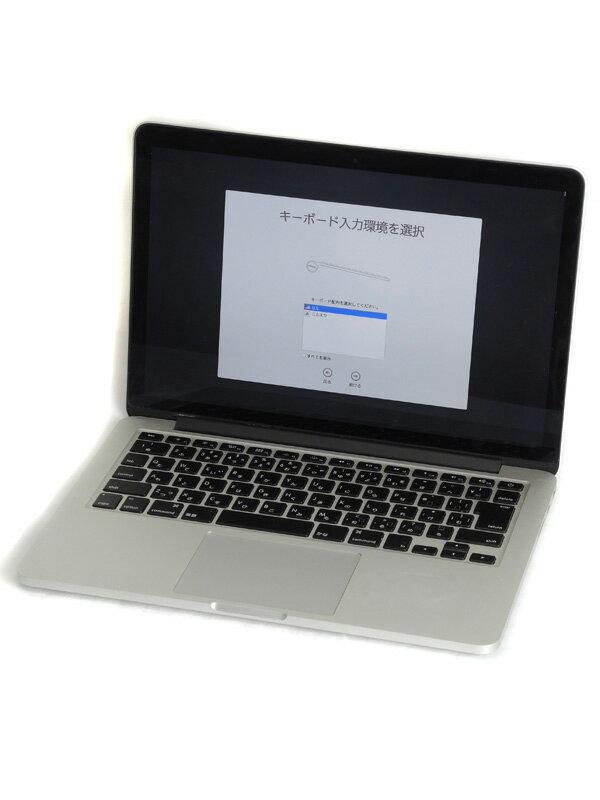 【Apple】アップル『MacBook Pro Retinaディスプレイ 2600/13.3』MGX72J/A Mid 2014 128GB Mavericks ノートPC【中古】