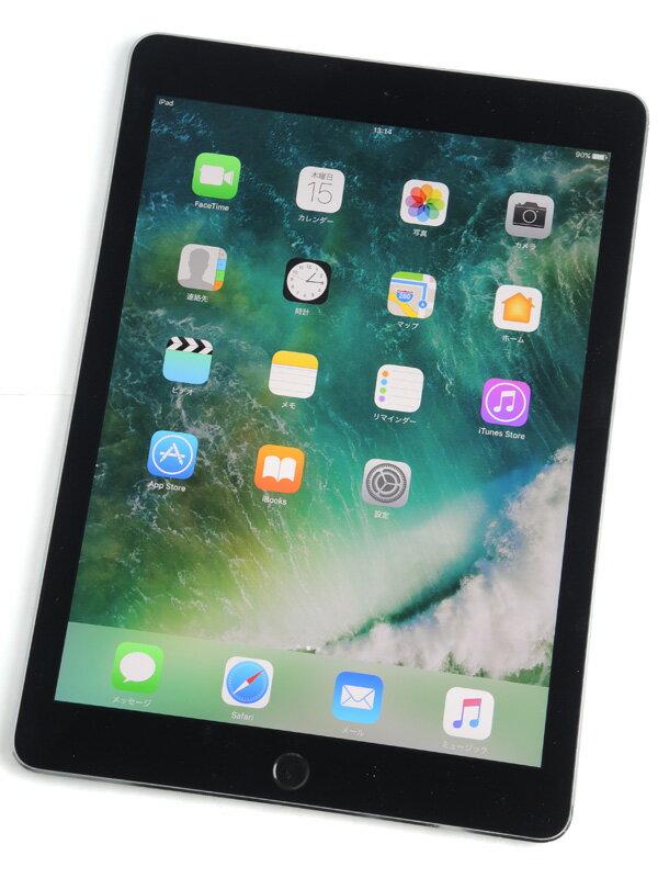 【Apple】アップル『9.7インチ iPad Pro Wi-Fi + Cellular 32GB docomo』MLPW2J/A スペースグレイ iOS10.0.1 ○判定 タブレット【中古】