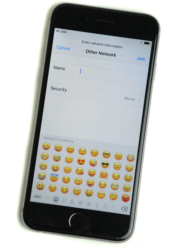 【Apple】アップル『iPhone 6 64GB docomo』MG4F2J/A スペースグレイ iOS10.1.1 4.7型 白ロム ○判定 スマートフォン【中古】