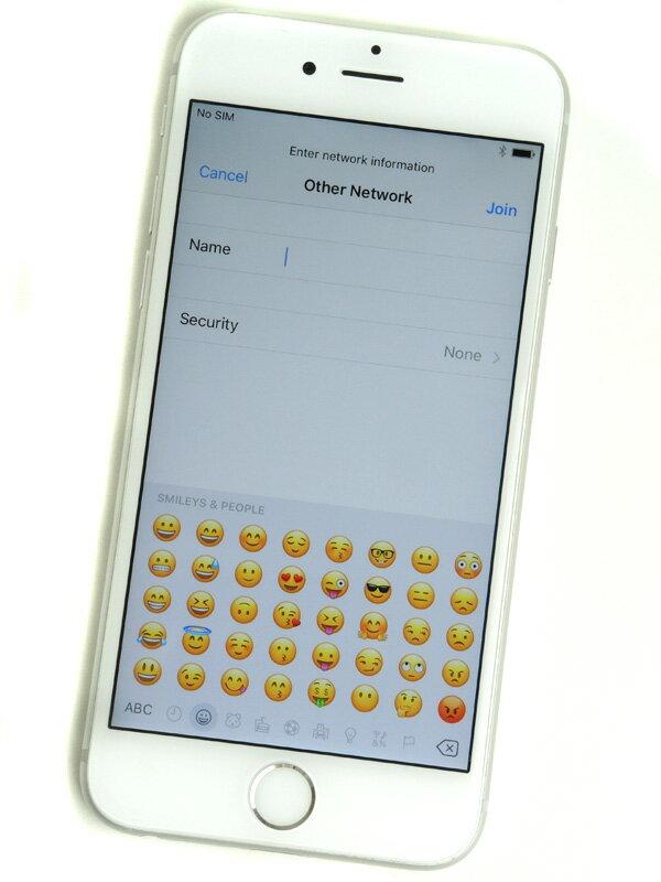 【Apple】アップル『iPhone 6s 64GB docomo』MKQP2J/A シルバー iOS10.1.1 4.7型 白ロム ○判定 スマートフォン【中古】
