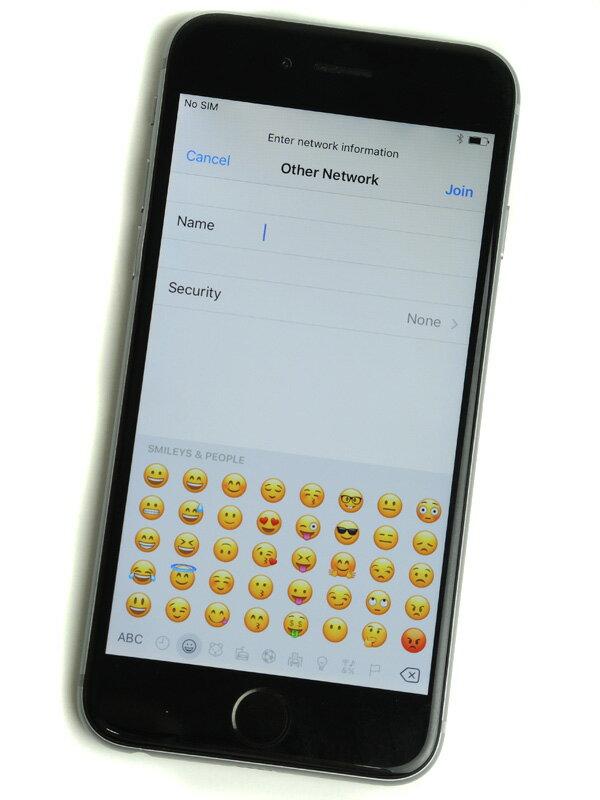 【Apple】アップル『iPhone 6 64GB au』MG4F2J/A スペースグレイ iOS10.1.1 4.7型 白ロム ○判定 スマートフォン【中古】