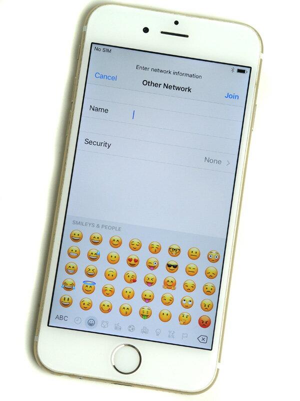 【Apple】アップル『iPhone 6 16GB SoftBank』MG492J/A ゴールド iOS10.1.1 4.7型 白ロム ○判定 スマートフォン【中古】