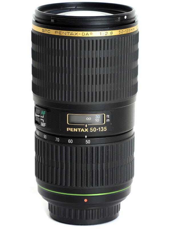 【PENTAX】ペンタックス『smc PENTAX-DA★50-135mmF2.8ED[IF] SDM』76.5-207mm相当 デジタル一眼レフカメラ用レンズ 1週間保証【中古】