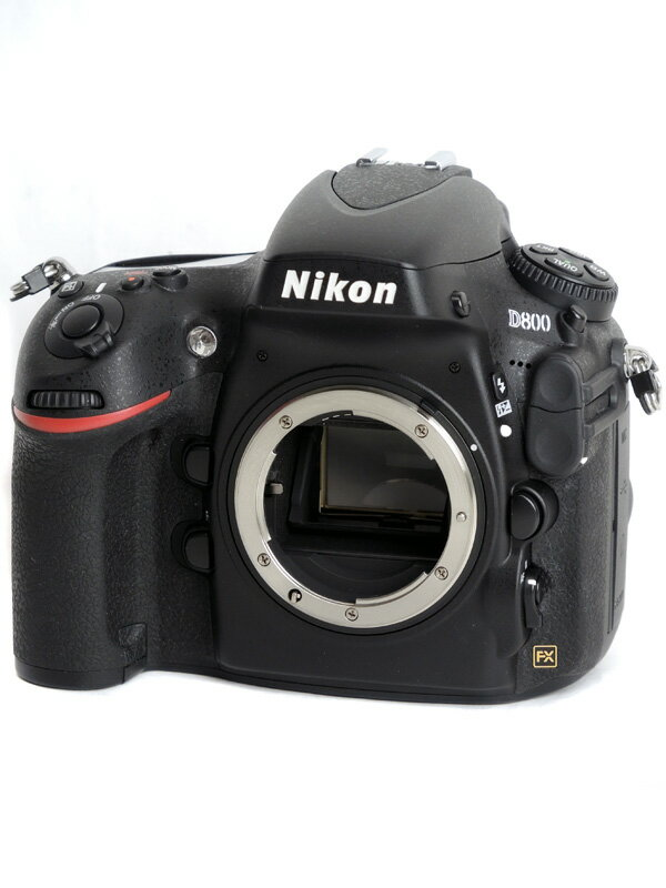 【Nikon】ニコン『D800』3630万画素 FXフォーマット ISO6400 フルHD動画 ボディー デジタル一眼レフカメラ 1週間保証【中古】