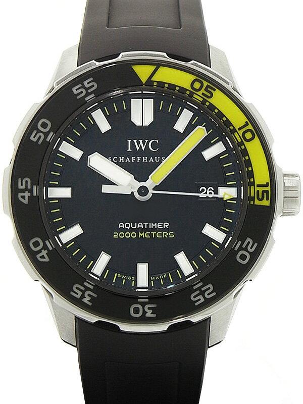 【IWC】インターナショナルウォッチカンパニー『アクアタイマー オートマティック』IW356802 メンズ 自動巻き 3ヶ月保証【中古】