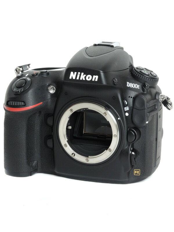 【Nikon】ニコン『D800E』3630万画素 FXフォーマット ISO6400 ローパス無効 ボディー デジタル一眼レフカメラ 1週間保証【中古】
