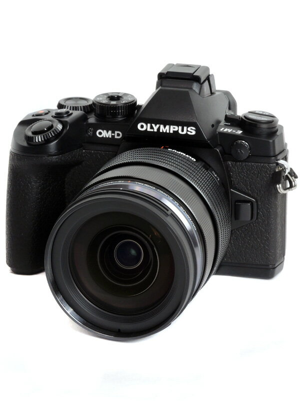 【OLYMPUS】オリンパス『OM-D E-M1 12-40mm F2.8レンズキット』ブラックボディー ミラーレス一眼カメラ 1週間保証【中古】