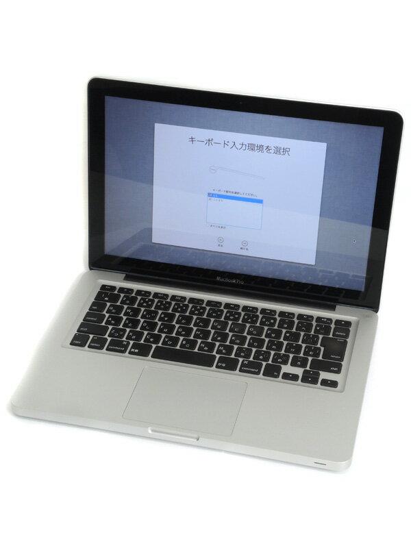 【Apple】アップル『MacBook Pro 2400/13.3』MD313J/A Late 2011 500GB DVD Lion ノートPC【中古】