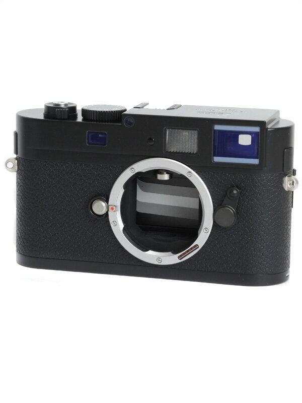 【Leica】ライカ『LEICA M9-P』10703 ブラックペイント 1800万画素 フルサイズ デジタルレンジファインダーカメラ 1週間保証【中古】