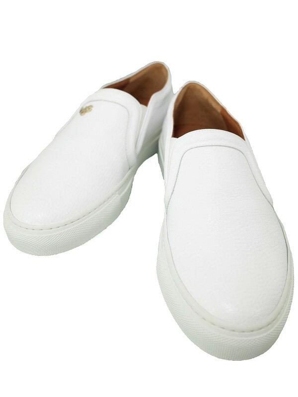 【GIVENCHY】ジバンシィ『レザー スリッポン Size 37』545010 レディース 1週間保証【中古】