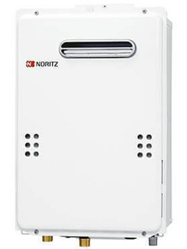 【NORITZ】ノーリツ『ユコアGQ』GQ-2039WS-20A LPG 20号 プロパンガス 屋外壁掛形 PS標準設置形 リモコンRC-7607M付属 ガス給湯器【中古】