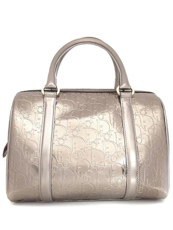 【Christian Dior】クリスチャンディオール『アルティメット ミニボストンバッグ』EMI449686 レディース ハンドバッグ 1週間保証【中古】