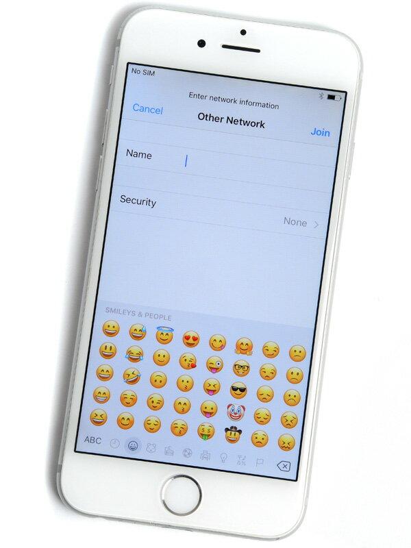 【Apple】アップル『iPhone 6 64GB SoftBank』MG4H2J/A シルバー iOS10.2 4.7型 白ロム ○判定 スマートフォン【中古】