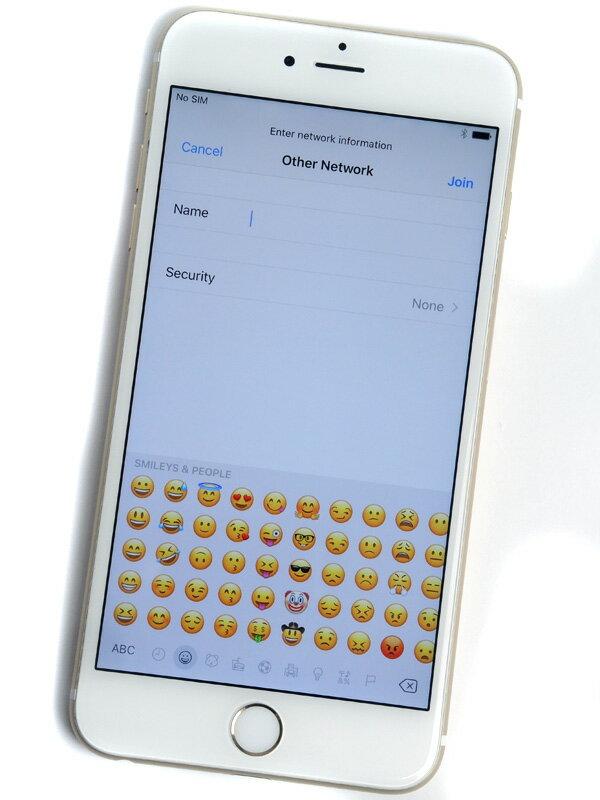 【Apple】アップル『iPhone 6s Plus 16GB docomo』MKU32J/A ゴールド iOS10.2 5.5型 白ロム ○判定 スマートフォン【中古】