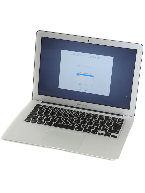 【Apple】アップル『MacBook Air 1600/13.3』MJVE2J/A Early 2015 128GB メモリ増設 ElCapitan ノートPC【中古】