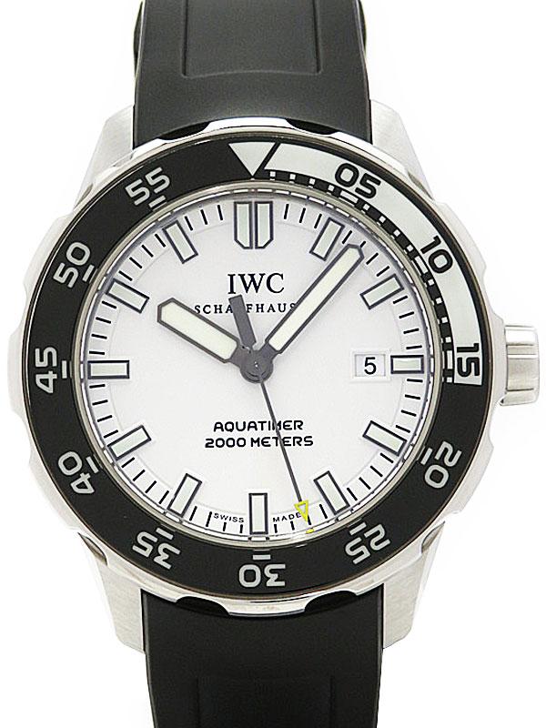 【IWC】インターナショナルウォッチカンパニー『アクアタイマー オートマティック』IW356806 メンズ 自動巻き 3ヶ月保証【中古】