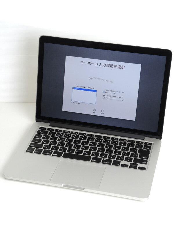 【Apple】アップル『MacBook Pro Retinaディスプレイ』ME662J/A Early 2013 カスタムモデル Mountain Lion ノートPC【中古】
