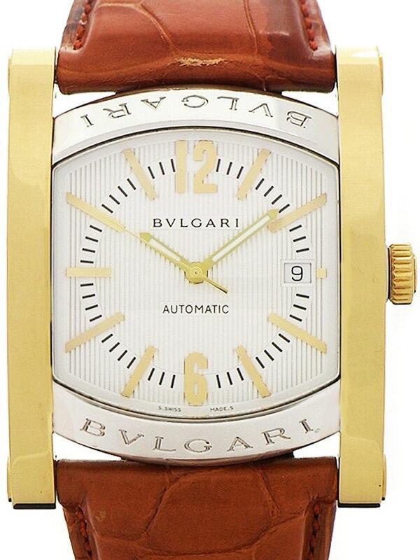 【BVLGARI】ブルガリ『アショーマ』AA48SG メンズ 自動巻き 3ヶ月保証【中古】