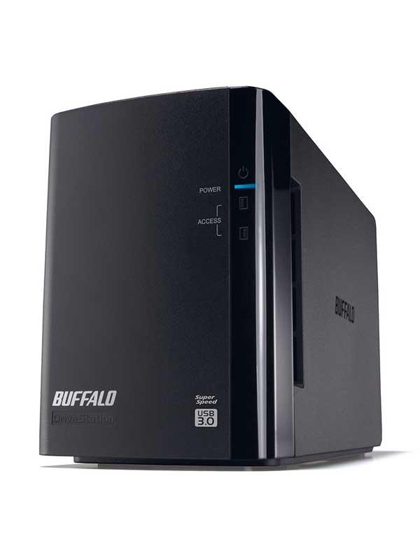 バッファロー『DriveStation Pro(ドライブステーション プロ)』HD-WHU6TU3/R1-C 6.0TB RAID1対応 USB3.0用 外付けHDD【中古】