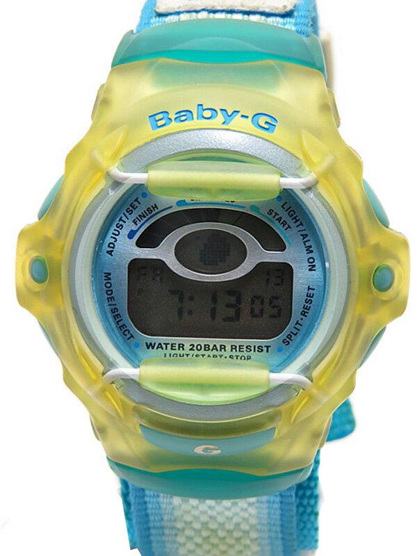 【CASIO】【BABY-G】【電池交換済】カシオ『ベビーG』BGR-210 レディース クォーツ 1週間保証【中古】