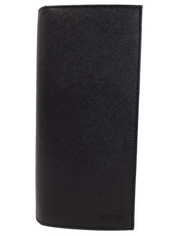 【PRADA】プラダ『二つ折り長財布』2MV836 メンズ 1週間保証【中古】