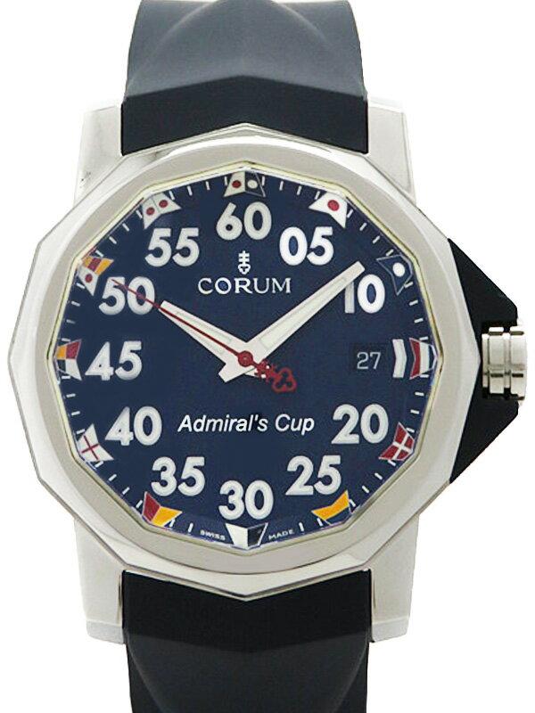 【CORUM】【仕上済】コルム『アドミラルズカップ コンペティション』082.960.20 メンズ 自動巻き 3ヶ月保証【中古】
