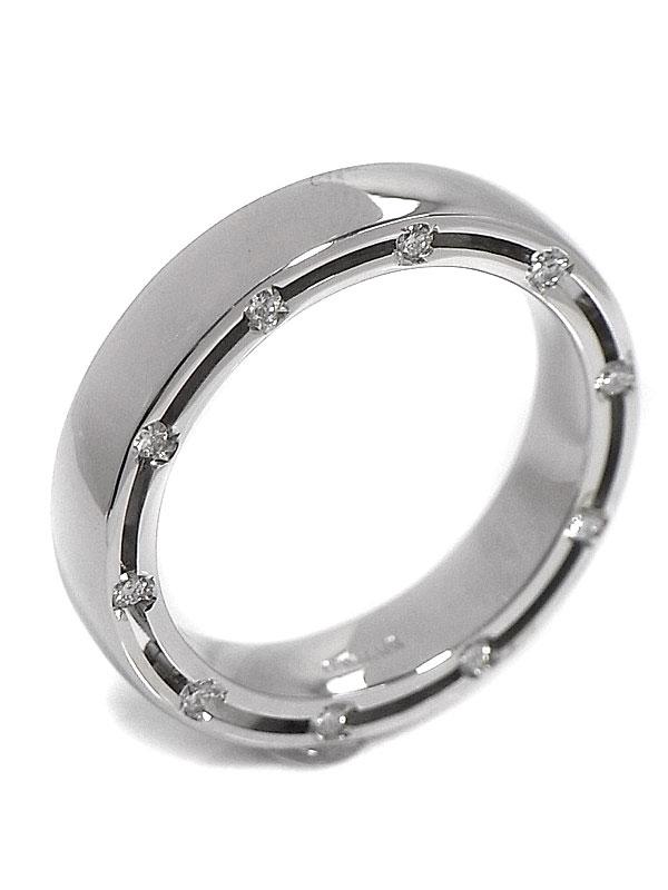 【DAMIANI】【仕上済】ダミアーニ『Dサイド リング 10Pダイヤモンド』8.5号 1週間保証【中古】