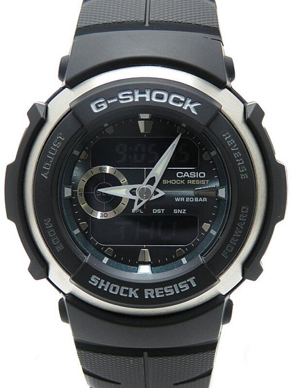【CASIO】【G-SHOCK】【美品】カシオ『Gショック Gスパイク』G-300-3AJF メンズ クォーツ 1週間保証【中古】
