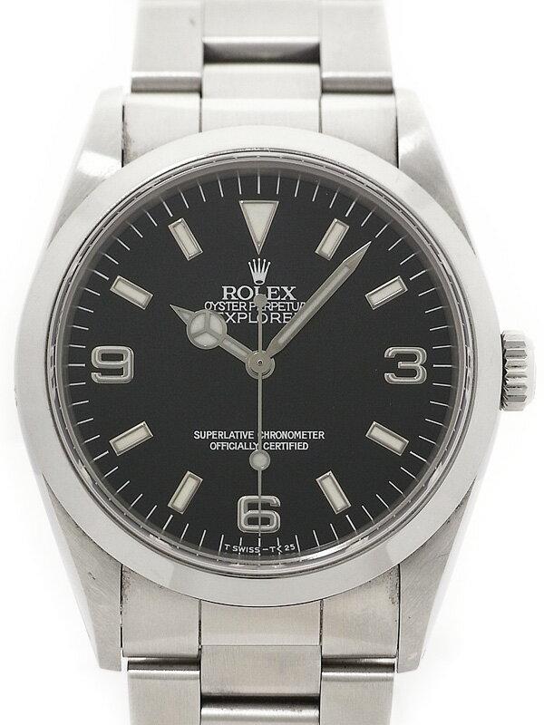 【ROLEX】ロレックス『エクスプローラー1』14270 N番'91年頃製 メンズ 自動巻き 12ヶ月保証【中古】