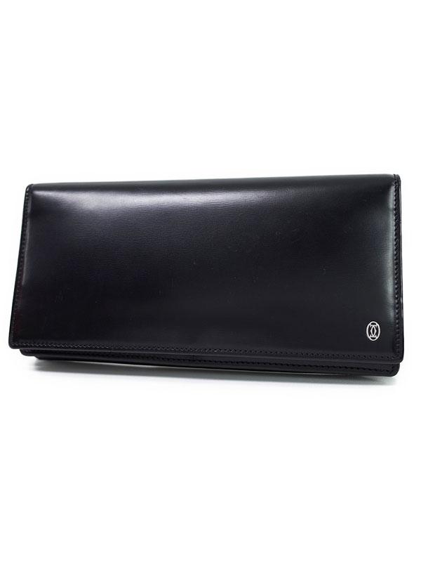 【Cartier】カルティエ『パシャ ドゥ カルティエ 二つ折り長財布』L3000440 メンズ 1週間保証【中古】