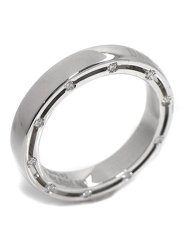 【DAMIANI】【仕上済】ダミアーニ『Dサイド リング 10Pダイヤモンド』11.5号 1週間保証【中古】