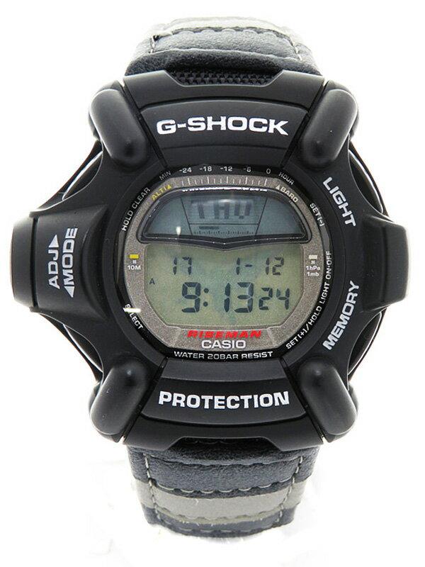 【CASIO】【G-SHOCK】カシオ『Gショック ライズマン メンインブラック』DW-9100ZJ-1T メンズ クォーツ 1週間保証【中古】