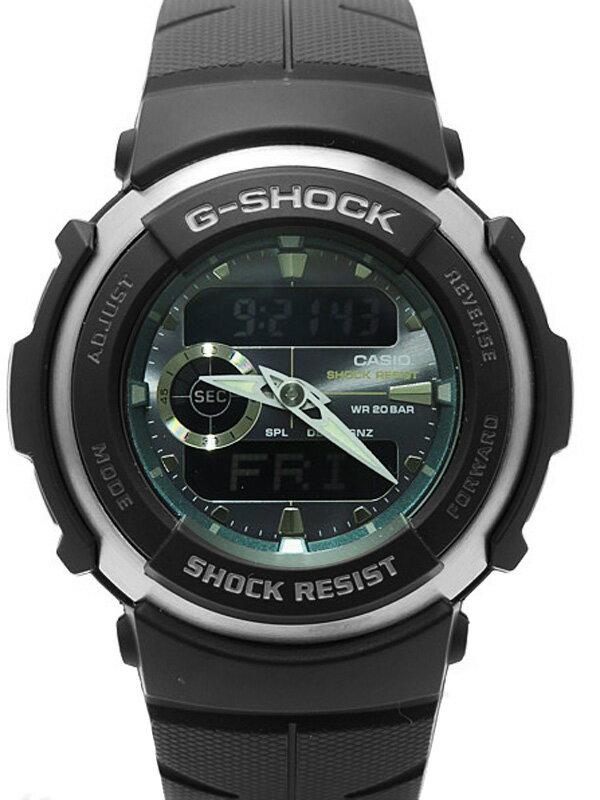 【CASIO】【G-SHOCK】【美品】カシオ『Gショック Gスパイク』G-300-3AJF メンズ ソーラー電波クォーツ 1週間保証【中古】