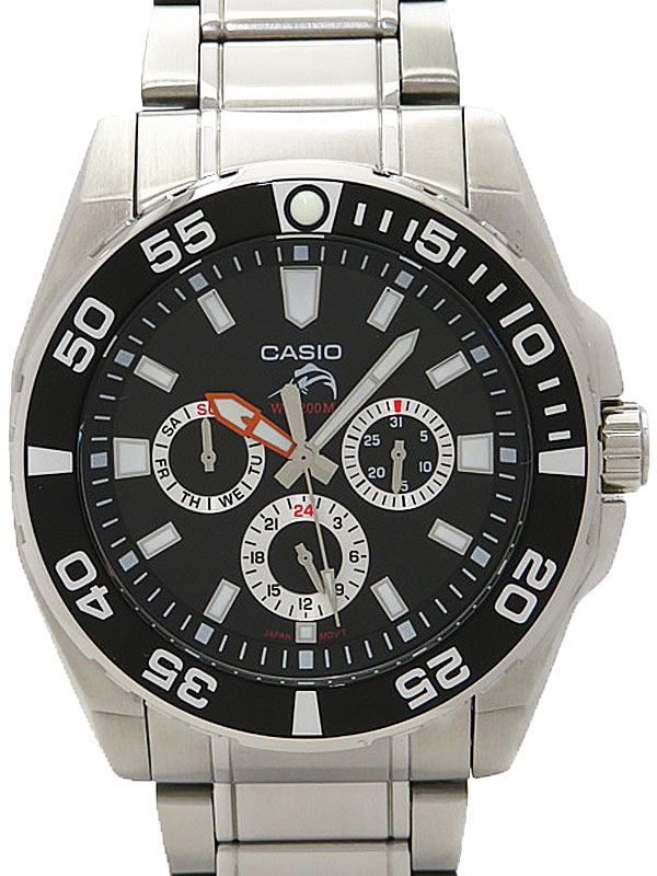【CASIO】【海外モデル】カシオ『Duro 200』MDV-302D-1AVDF メンズ クォーツ 1週間保証【中古】