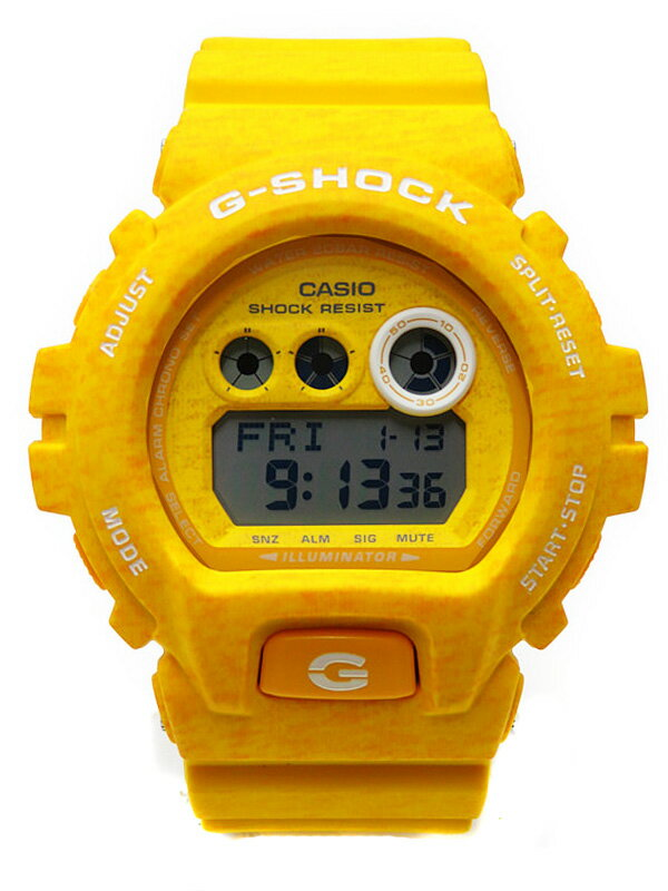 【CASIO】【G-SHOCK】【美品】カシオ『Gショック へザードカラーシリーズ』GD-X6900HT-9JF メンズ クォーツ 1週間保証【中古】