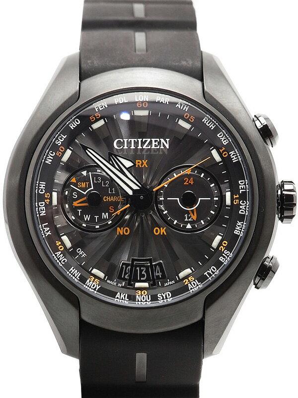 【CITIZEN】【'17年購入】【美品】シチズン『プロマスター エコドライブ サテライトウェーブ』CC1075-05E メンズ ソーラー電波GPS 1ヶ月保証【中古】