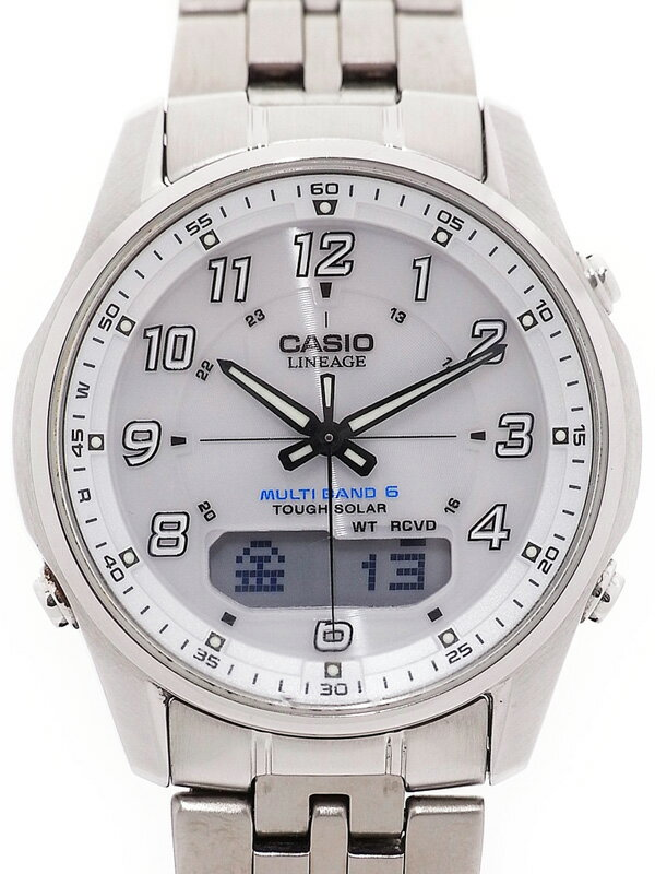 【CASIO】カシオ『リニエージ』LCW-M100D-7AJF メンズ ソーラー電波クォーツ 1週間保証【中古】