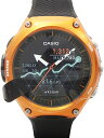 【CASIO】【美品】カシオ『スマート アウトドアウォッチ』WSD-F10RG メンズ 腕時計型端末 1ヶ月保証【中古】b02w/h09S