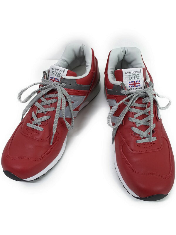 【New Balance】【made in England】ニューバランス『スニーカー size UK 8 1/2』M576RED メンズ 1週間保証【中古】