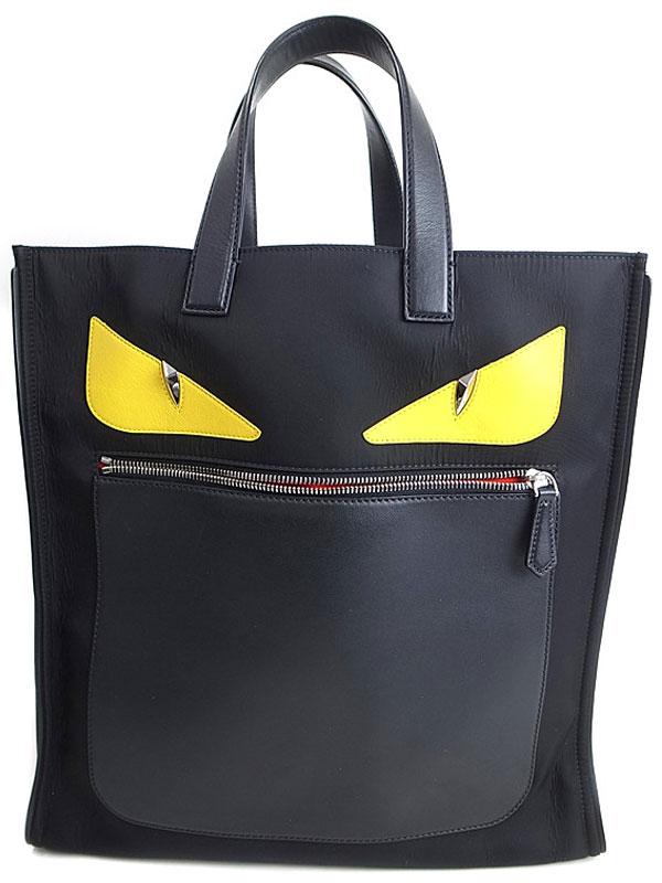【FENDI】【BAG BUGS】フェンディ『バッグバグズ トートバッグ』7VA367 レディース 1週間保証【中古】