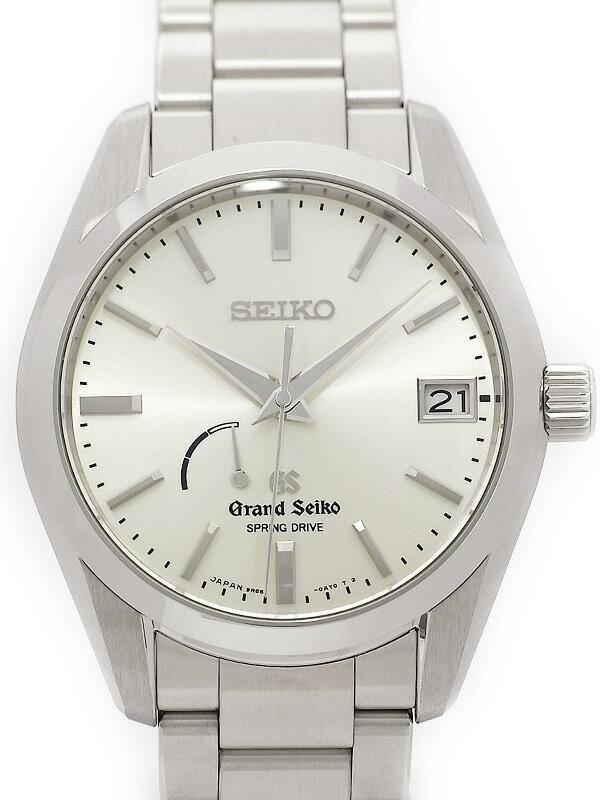 【SEIKO】【GS】【'16年購入】【美品】セイコー『グランドセイコー』SBGA083 メンズ スプリングドライブ 3ヶ月保証【中古】