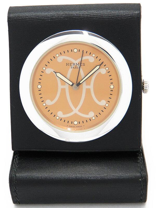 【HERMES】エルメス『テーブルクロック』OU1.703 ボーイズ 置き時計 1週間保証【中古】